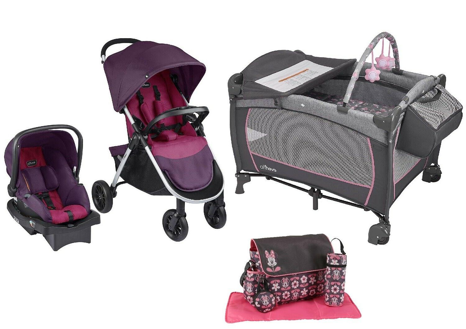toddler stroller with car seat baby suite