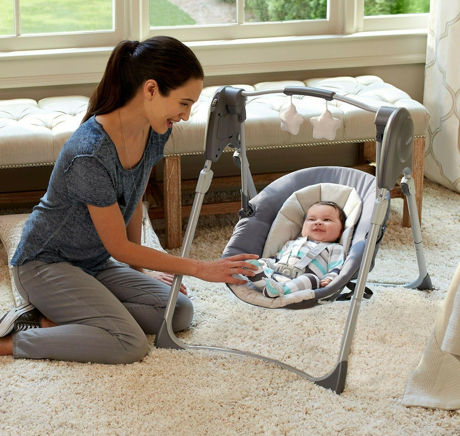 Evenflo Baby Combo Stroller with Car Seat Playard Swing Bag