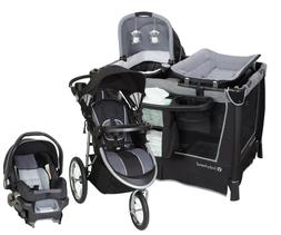 New Baby Stroller Travel System with Car Seat and Infant Pla
