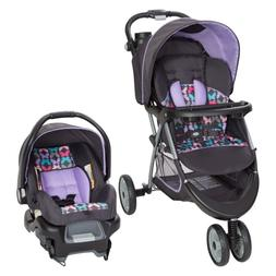 New Car Seat and Stroller Combo Set Baby Infant Kid Newborn