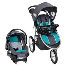 Baby Trend Pathway 35 Jogger Travel System-Optic Teal + 4-35