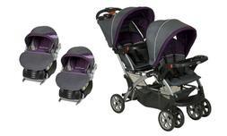 Baby Trend Sit N Stand Double Baby Stroller with Two Flex Lo