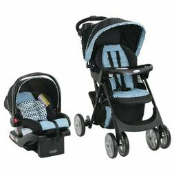Stroller Baby Travel System with Car Seat and 2 Cup Holders