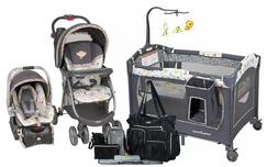 Baby Trend Stroller Travel System Car Seat with Playard Crib