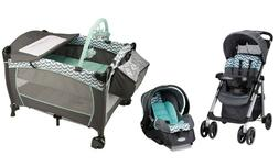 Stroller Travel System Combo Baby Car Seat with Infant Playa