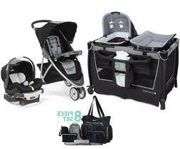 Stroller with Car Seat Chicco Baby Trend Playard Diaper Bag