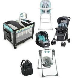 travel system baby combo stroller with car