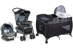 Chicco Travel System Combo Set Stroller with Car Seat Deluxe